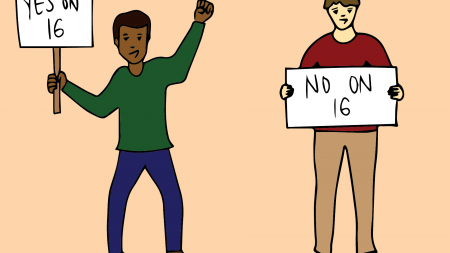 The effect of Proposition 16 on campus diversity