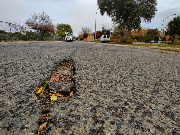City of Davis approves 10-year plan to fix deteriorating bike paths and roads