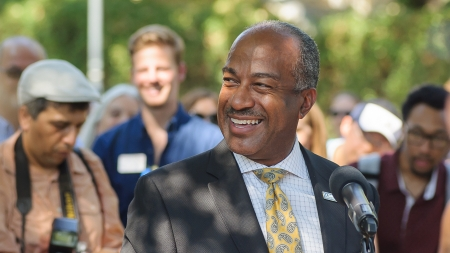 Chancellor Gary May was named one of 1,000 inspiring Black scientists in America