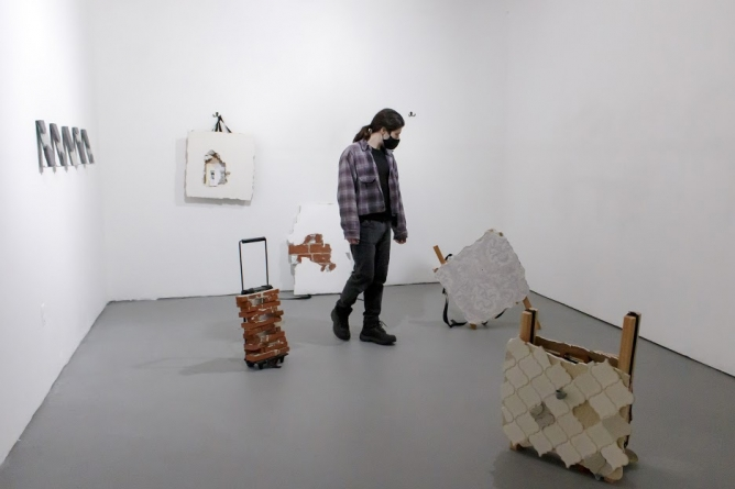 The lives of UC Davis art students in quarantine