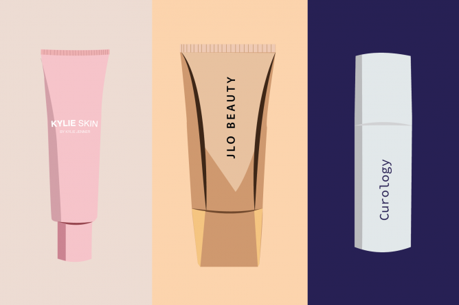 Through product lines and sponsorships, social media influencers and celebrities are taking over the skincare industry