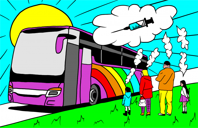 Yolobus offers free transit to COVID-19 vaccination appointments