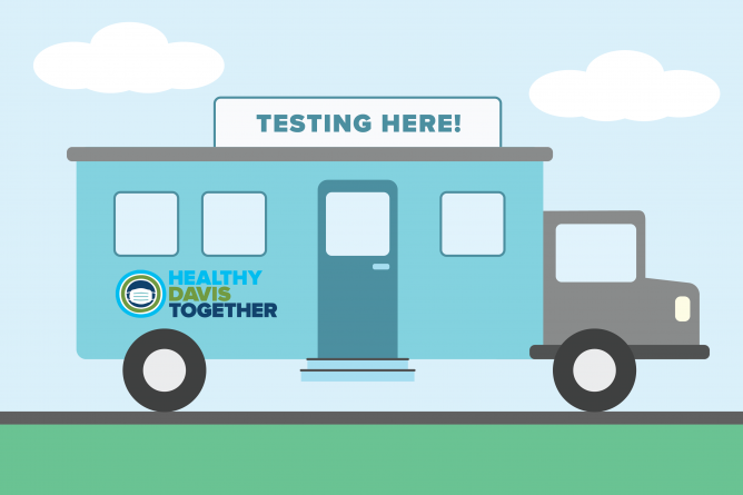 Healthy Davis Together starting pilot for mobile COVID-19 testing at four Davis Joint Unified School District campuses