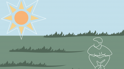An ode to sitting in the grass under the sun