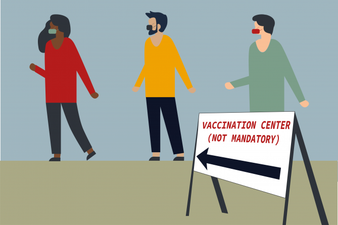 It remains unclear whether the COVID-19 vaccine will be mandatory for UC students
