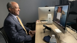 Chancellor Gary May hosts new monthly talk show