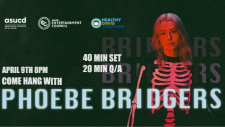 Phoebe Bridgers comes to UC Davis for a virtual performance and live Q-and-A for students