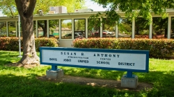 Davis Joint Unified School District implemented in-person instruction starting April 12