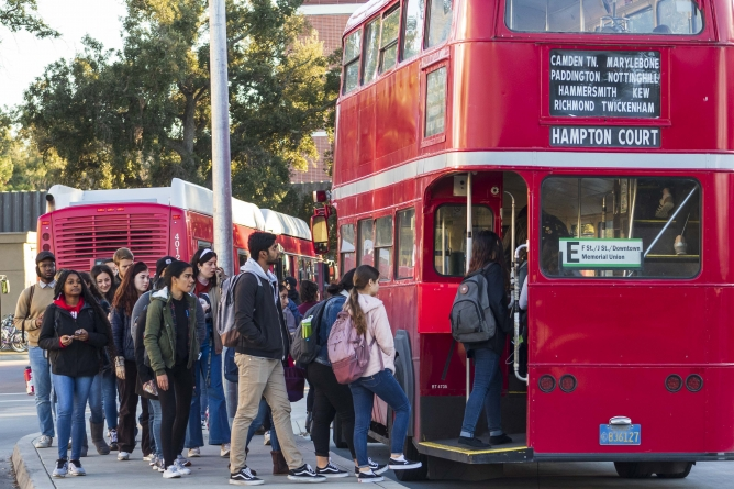 Why study abroad when Davis is essentially the new-and-improved London?