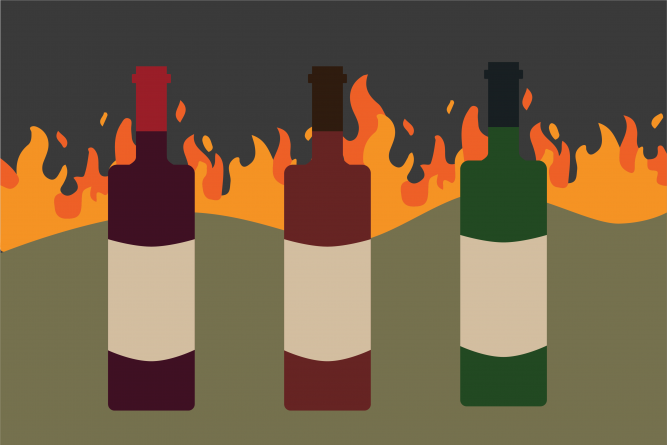 UC Davis researchers examine the severity of the effects of smoke taint on California wine