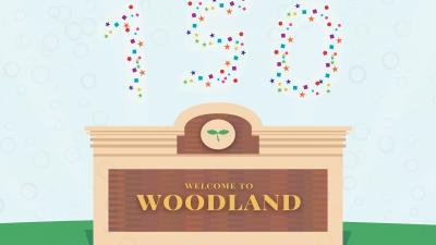 Woodland celebrates its 150th anniversary