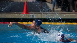 UC Davis Women's Water Polo team prepares to finish off their season