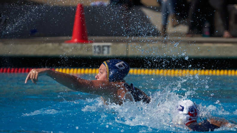 UC Davis Women's Water Polo team prepares to finish off their season