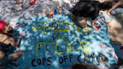 Cops Off Campus walk out commences Abolition May