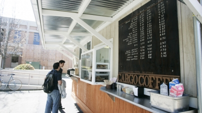 Cargo Coffee near King Hall reopens